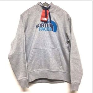 THE NORTH Face Men L Gray Hoodie Sweat Sweat Shirt